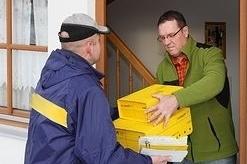 Biodoras csomag átvétel